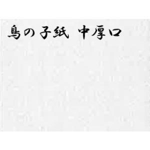 三号鳥の子紙 機械漉中厚  ドーサ引き 5枚巻 98×183cm|e-gazai-tougei