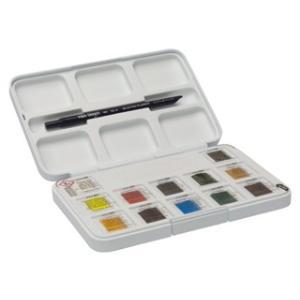 ナショナルギャラリー×ヴァンゴッホ固形水彩12色ポケットボックス|e-gazai-tougei