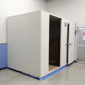 プレハブ冷蔵庫(ユニット含む) 約1.5坪用 パネル FSP / 冷蔵ユニット パナソニック PCU-TN150M 中古|e-gekiyasu
