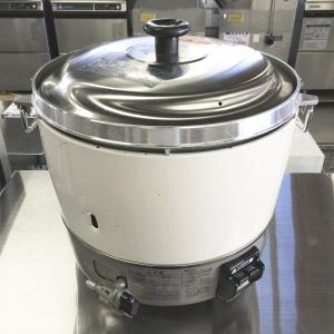 ガス炊飯器(3升用 6L) リンナイ RR-30S1-F 中古|e-gekiyasu