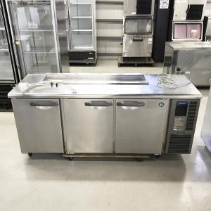 業務用テーブル形冷蔵庫(サンドイッチ) ホシザキ RT-180SNF-R 中古|e-gekiyasu