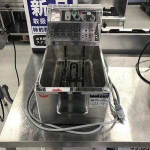 卓上電気フライヤー マルゼン MEF-M8T 中古|e-gekiyasu