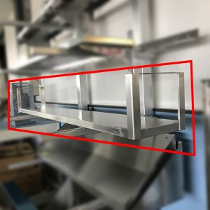 吊戸棚(特注) 1565x230x200 新品未使用品|e-gekiyasu