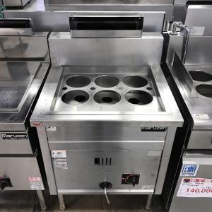 ゆで麺機(角槽型ラ−メン釜) マルゼン MRK-066B 中古 e-gekiyasu