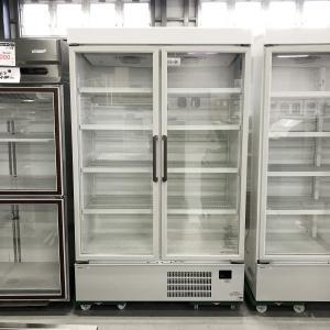 リーチイン冷蔵ショーケース パナソニック SRM-461NA 中古【ガラス製品のため自社配送(三重県内)のみ注文承ります】|e-gekiyasu