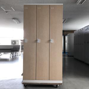 3人用ロッカー(鍵あり) 生興 SEIKOFAMILY SLBL-3 中古|e-gekiyasu