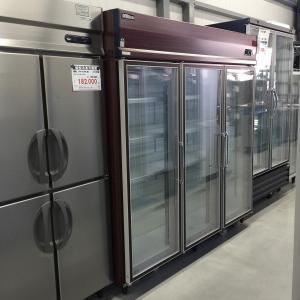 リーチイン冷蔵ショーケース ダイワ(大和冷機工業) 613KP-EC 中古【ガラス製品のため自社配送(三重県内)のみ注文承ります】|e-gekiyasu