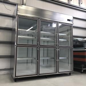 リーチイン冷蔵ショーケース ダイワ(大和冷機工業) 613DP6-EC 中古【ガラス製品のため自社配送(三重県内)のみ注文承ります】|e-gekiyasu