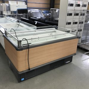 平型ショーケース(冷凍・冷蔵切替) 福島工業 IMC-55PGFSAXR 中古|e-gekiyasu
