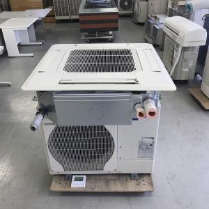 エアコン 天カセ型 3馬力 三菱 内機 PL-SRP80BA7 外機 PUZ-SRP80HA12 リモコン PAR-34MA 中古|e-gekiyasu