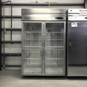 リーチイン冷蔵ショーケース ホシザキ RS-120X-4G 中古【ガラス製品のため自社配送(三重県内)のみ注文承ります】|e-gekiyasu