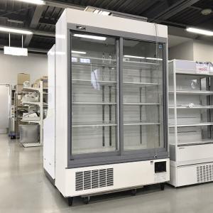 リーチイン冷蔵ショーケース ホシザキ RSC-120CT-1 中古【ガラス製品のため自社配送(三重県内)のみ注文承ります】|e-gekiyasu