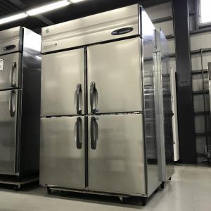 タテ型冷凍冷蔵庫 ホシザキ HRF-120ZFT  中古 e-gekiyasu