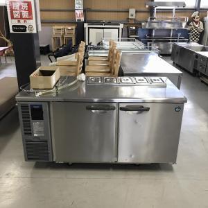 コールドテーブル(オール冷蔵)※サンドイッチ仕様(特注品)ホシザキ RT-150SDF-E 中古|e-gekiyasu