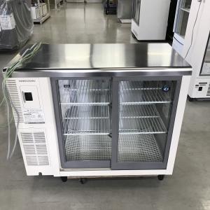 小形冷蔵ショーケース(オール冷蔵)ホシザキ RTS-90STB2 中古 ※露受けなし|e-gekiyasu