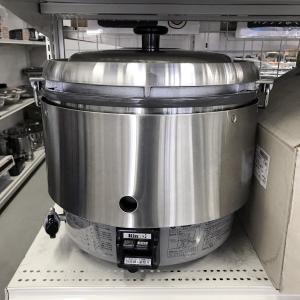 ガス炊飯器(3升用)リンナイ RR-30R2 ※接続ホースΦ9.5用必要|e-gekiyasu
