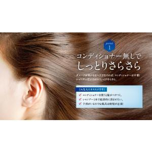シャンプー 美容室 専売品 ノンシリコンアミノ酸系 オンリーシャンプー  リンス不要|e-goodsplus|05