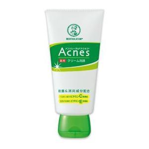 アクネス 薬用クリーム洗顔 医薬部外品 130g メンソレータム  ロート製薬|e-hadapios