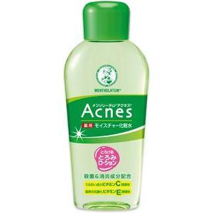 アクネス 薬用モイスチャー化粧水 120ml メンソレータム  ロート製薬|e-hadapios