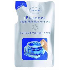ナイトリッチ ブルーオーラEX2 夜用オールインワンジェル つめかえ用 55g 美カンヌ化粧品|e-hadapios