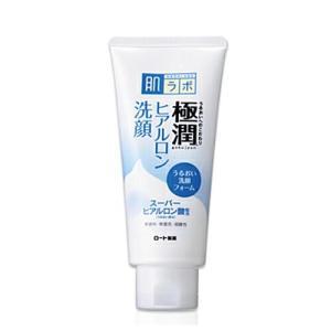 肌研(ハダラボ) 極潤 ヒアルロン 洗顔フォーム 100g ロート製薬|e-hadapios