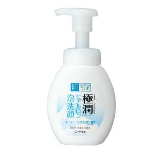 肌研(ハダラボ) 極潤 ヒアルロン泡洗顔 160ml ロート製薬|e-hadapios