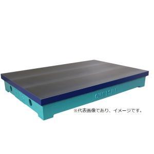 (メーカー直送) 大西測定 105-3035K 鋳鉄製 型定盤 OS-105 機械 300×350定盤台|e-hakaru