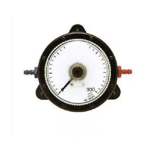 山本電機製作所 WO81 FS 1000D 微差圧計 マノスターゲージ 表面形 置針1本付 微差圧計 マノスターゲージ 赤色 e-hakaru