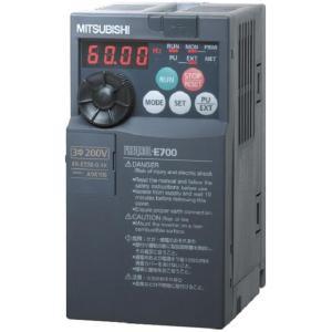(納期要問合)三菱電機 FR-E720-7.5K 三相200Vインバーター 7.5KW e-hakaru