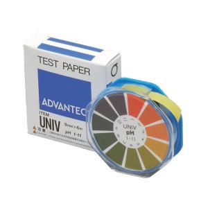 アドバンテック PH試験紙 UNIV ロールタイプ|e-hakaru