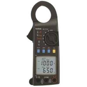 SK-7720 直流交流両用デジタルクランプメーターの特長 ◆自動車や機械のメンテナンスに最適 ◆電...