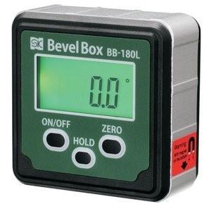 新潟精機 BB-180L デジタル角度計 ベベルボックス BB180L バックライト付タイプ e-hakaru