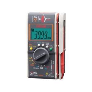 三和電気計器 ハイブリッドミニテスタ ケース付 MΩテスタ DG35a/C SANWA