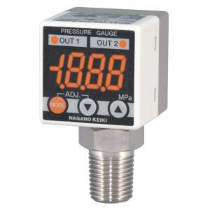 長野計器 GC31-174-C7N3800XXXX0 小形デジタル圧力計 -0.1MPa〜1MPa NPNオープンコレクタ e-hakaru