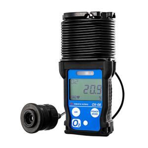 理研計器 OX-08 ブザー付 投込式ポータブル酸素測定器|e-hakaru