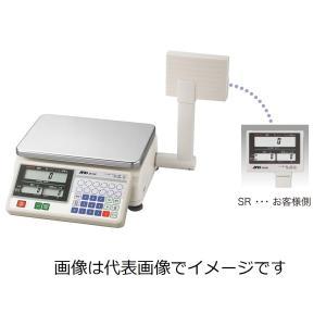 (納期要問合・直送)A&D SR-6K 検定付きはかりデジタル料金はかり タワー付 ひょう量=600...