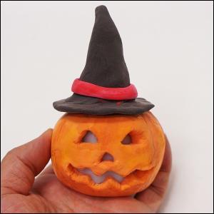 ねんどで作るオバケランタン / 工作 手作り 粘土 ハロウィン|e-halloween