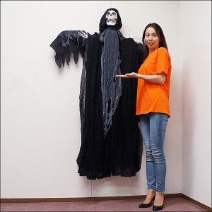 【早期割引特価!¥5000→¥4000】ハロウィンビッグ装飾  動くホラーハンギング H160cm/動画有|e-halloween