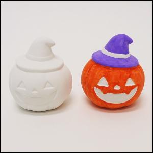 お絵かき陶器貯金箱 ハロウィンパンプキン|e-halloween