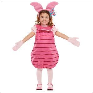 ハロウィンコスチューム 子ども用ピグレットS Child Piglet − S
