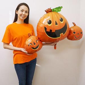 [在庫限り] 装飾用ハロウィンバルーン モンスタートリプルヘッド H91cm/メール便5枚まで可 e-halloween