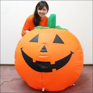 8300⇒5000円 ハロウィンエア装飾 エアブロー ハロウィンパンプキン H90cm/ 動画有 e-halloween