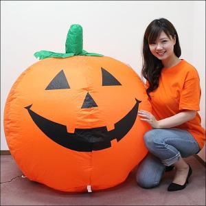 8300⇒5000円 ハロウィンエア装飾 エアブロー ハロウィンパンプキン H90cm/ 動画有 e-halloween 02