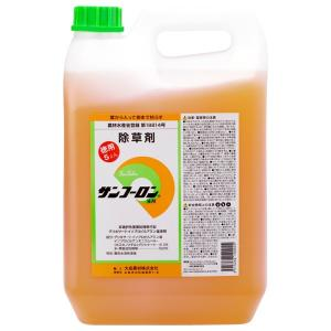 大成農材 グリホサート41%除草剤 農耕地登録品 サンフーロン液剤 5L ポイント10倍|e-hanas