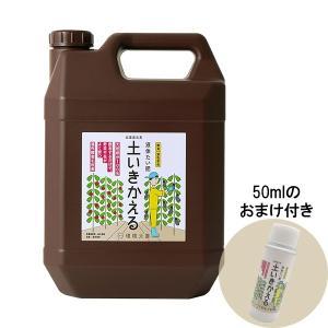 環境ダイゼン 土いきかえる 4L|e-hanas