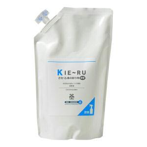 環境ダイゼン きえ〜るU 消臭 バイオ KIE〜RU(身の回り用) 1L詰め替え用|e-hanas