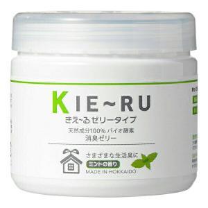 消臭剤 消臭 きえーる きえ〜るU 消臭 KIE〜RU(ゼリータイプ)ミント 140g 環境ダイゼン|e-hanas