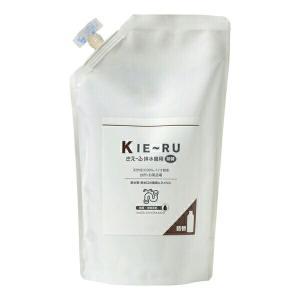 環境ダイゼン きえ〜るU 消臭 KIE〜RU(排水管用)有色液1L詰替え用|e-hanas