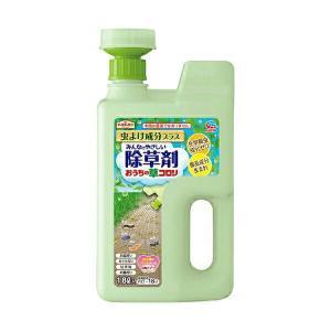 アース製薬 アースガーデン 除草剤 おうちの草コロリ 虫よけ成分プラス 1.8L e-hanas