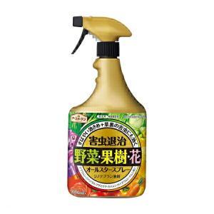 殺虫剤 害虫 浸透移行 オールスタースプレー 1000ml アース製薬 アースガーデン e-hanas